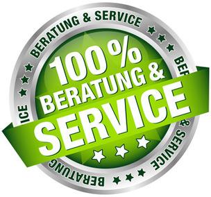 100% Bearatung und Service mit unserem CRM-System