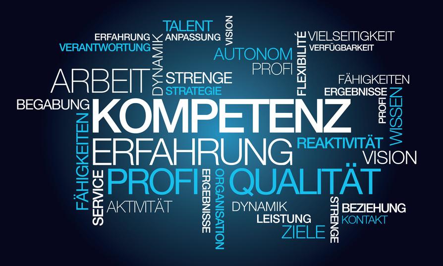 Kompetenz Erfahrung Arbeit Individualsoftware